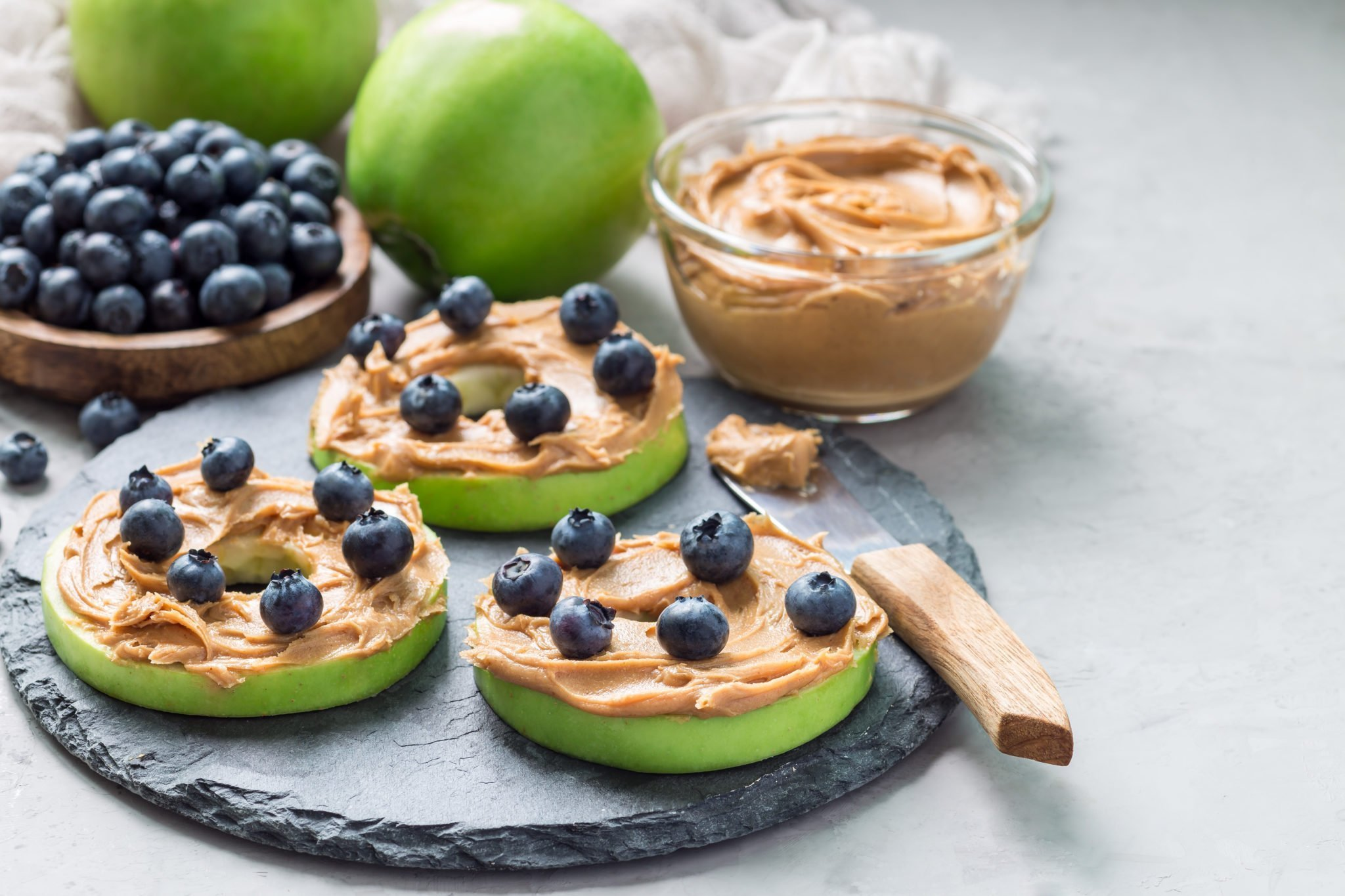 Pregnancy Protein Apple Snacks